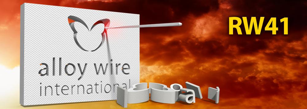 RW 41 Ultra High Strength Hot Cutting Wire