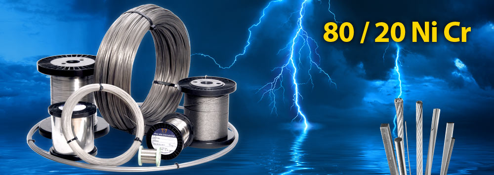 80/20 Ni Cr Resistance Wire